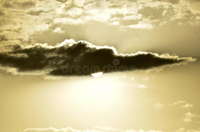 Sun, Clouds, Sky Background stock photography