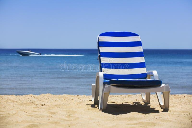 Sun-Bett lizenzfreies stockfoto