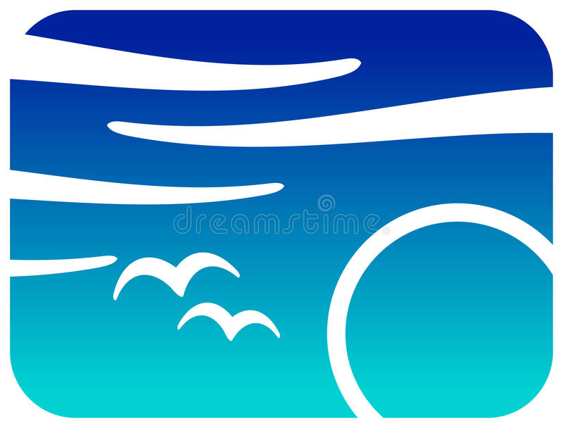 Download Sun And Birds Royalty Free Stock Image - Image: 17882486