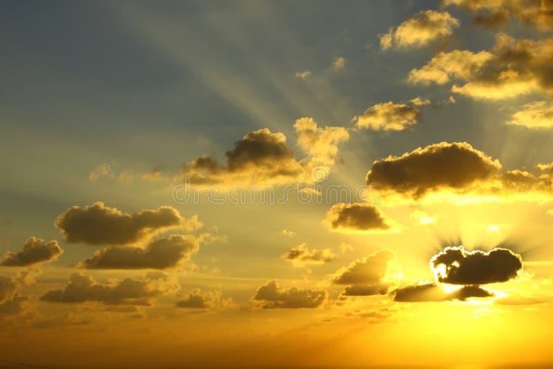 Sun blast royalty free stock photo