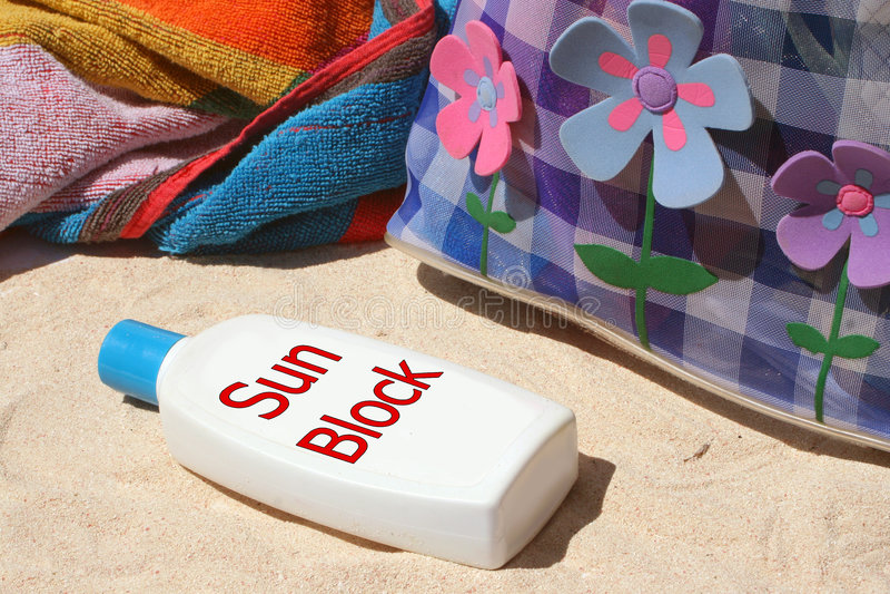 Sun block royalty free stock images