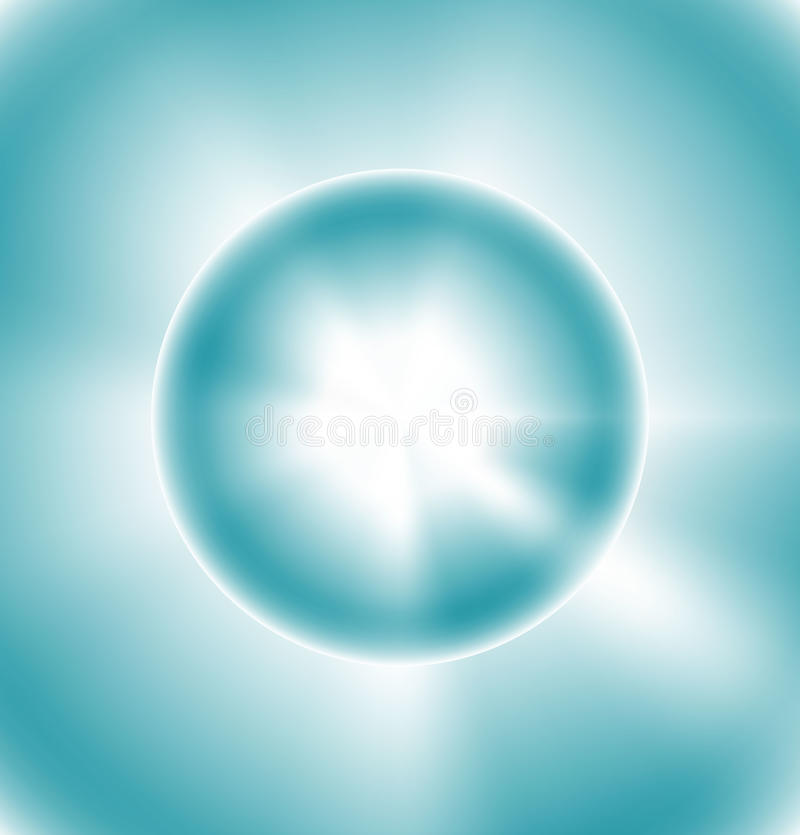 Download The sun in the blue sky stock vector. Image of flare - 33148029
