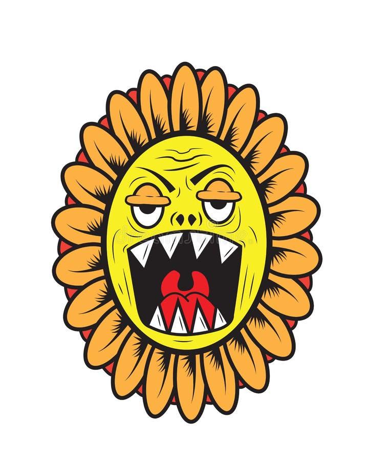 Sun-Blumenmonster stockfotos