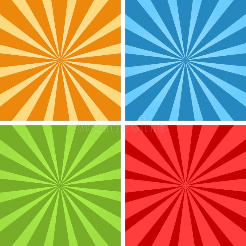Free Sun Burst Stock Image - 119237951