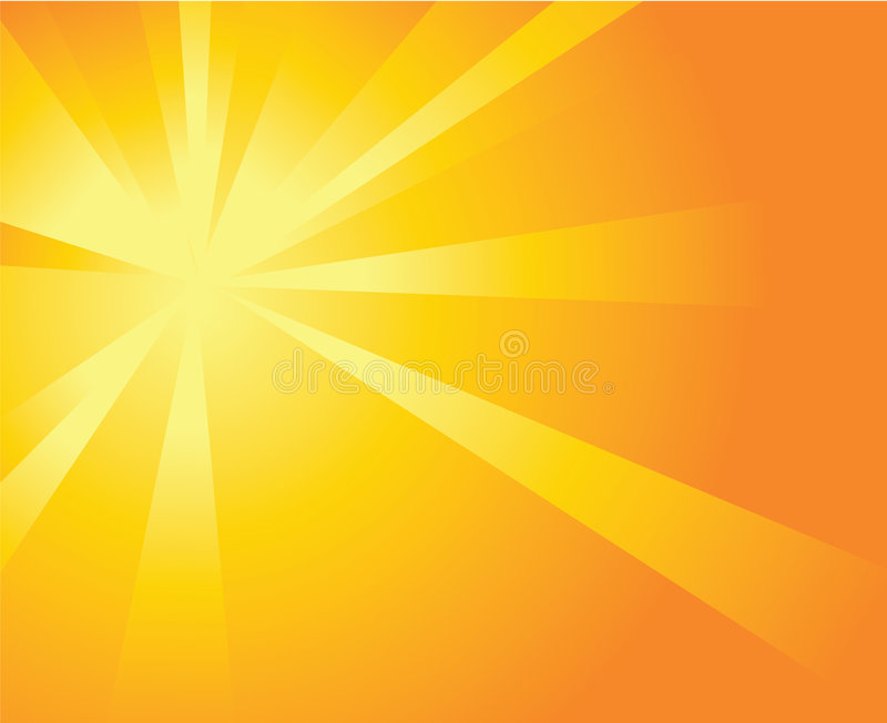Sun Burst stock illustration
