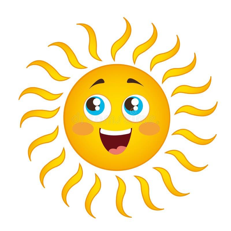 Download Sun cartoon stock vector. Illustration of optimistic - 22742708