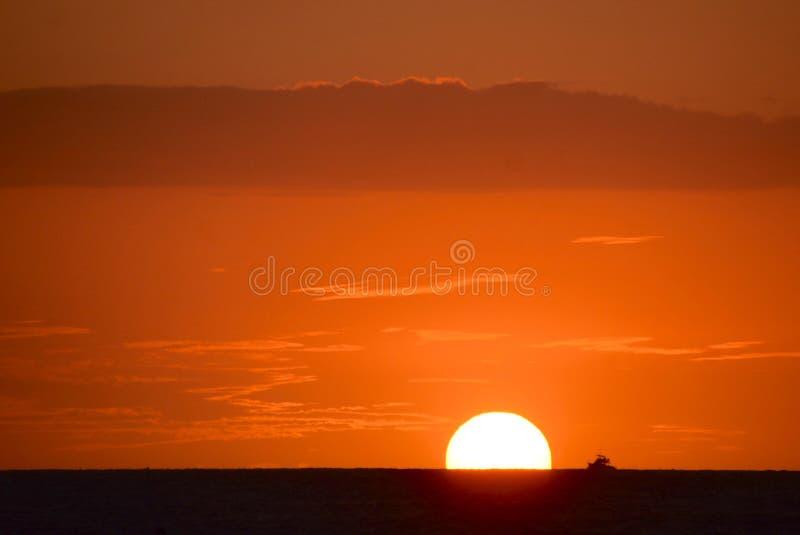 Sun chutant photo stock