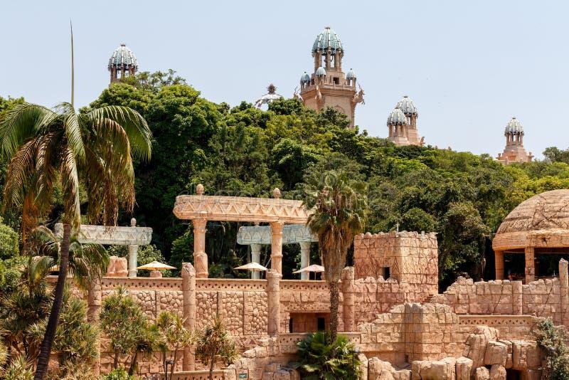 Sun City, дворец потерянного города, Южной Африки стоковое изображение rf