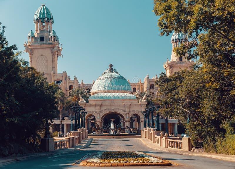 Sun City, città persa nel Sudafrica fotografia stock libera da diritti