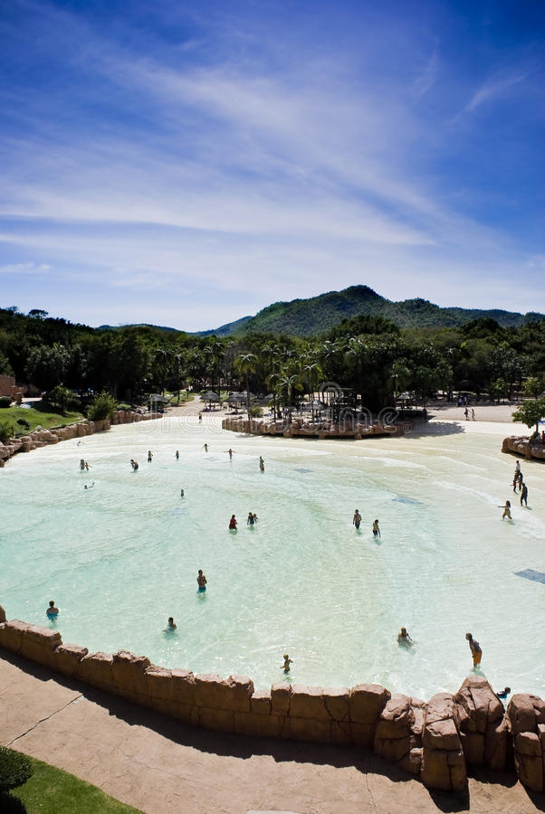 Sun City, Lost Palace, Valley of Waves royalty free stock photos