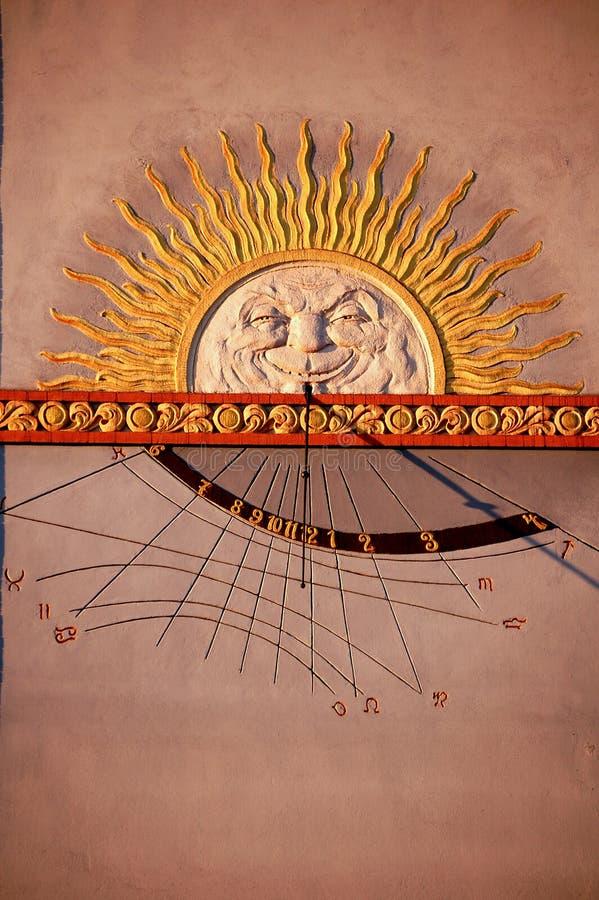 Sun Clock Stock Photography