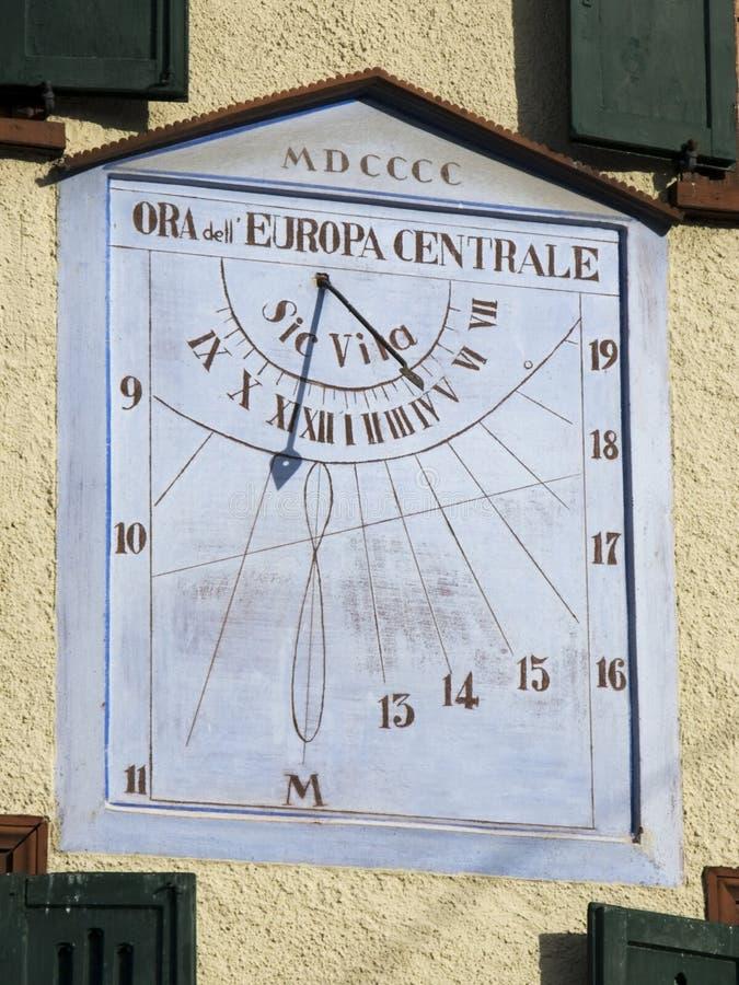 Download Sun clock stock image. Image of trail, retro, bronze, science - 7599577