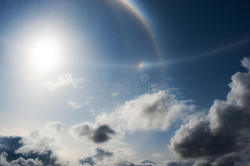 Download Sun and clouds stock photo. Image of star, water, line - 20566402