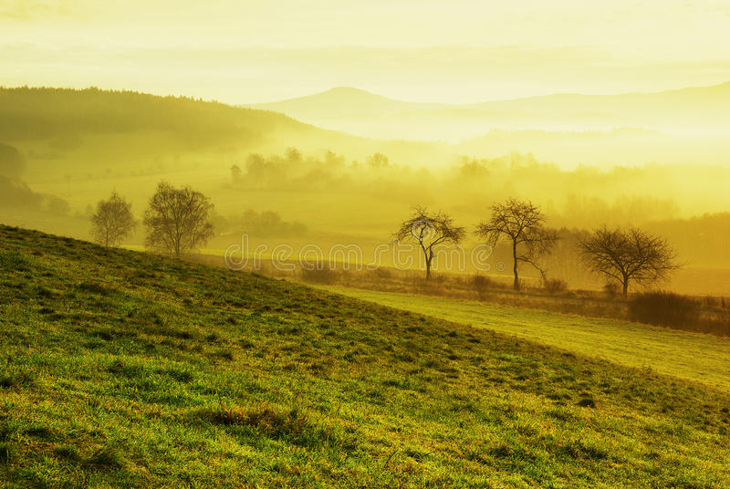 Download Sun Country stock image. Image of foggy, europe, hazy - 17042723