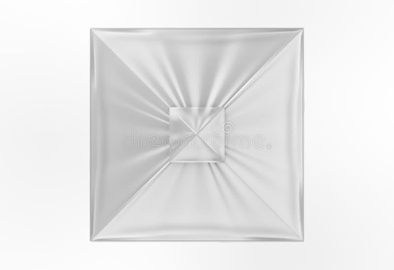 Sun de alumínio relativo à promoção estala acima o guarda-chuva do parasol para anunciar 3d que arranca a ilustração ilustração royalty free