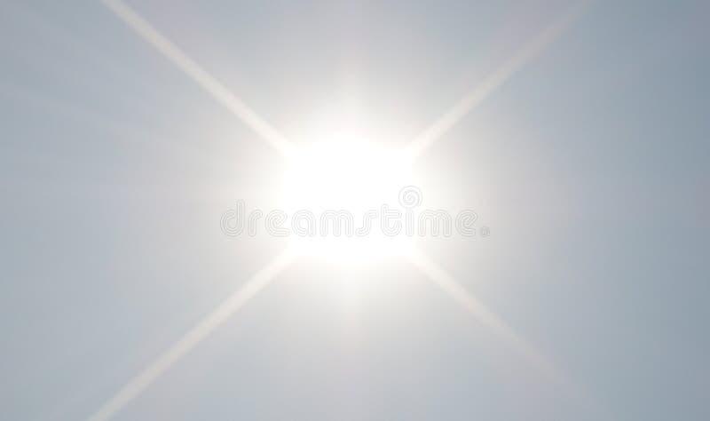 Sun de brilho imagens de stock royalty free
