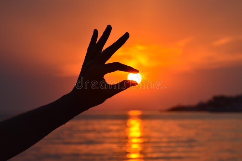 The Sun de saisie photographie stock