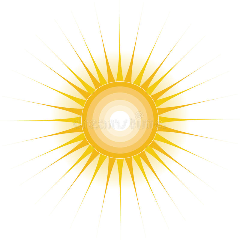 Sun Design stock illustration