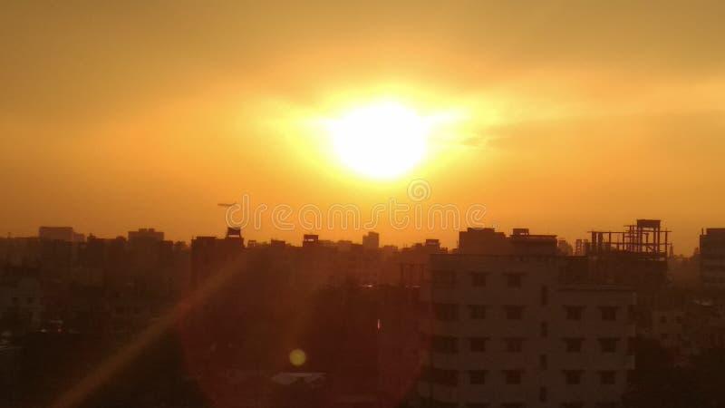 Sun di amore fotografie stock libere da diritti