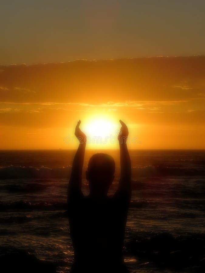 The Sun di cattura immagine stock