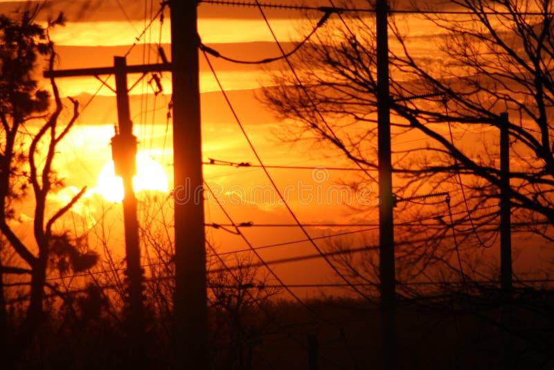 Sun di potere fotografia stock