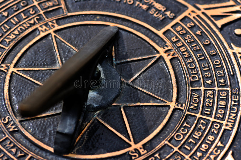Download Sun Dial stock photo. Image of time, antique, date, cast - 2185424