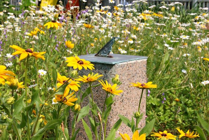Sun Dial Garden royalty free stock photography