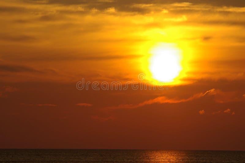 Sun Down stock photography