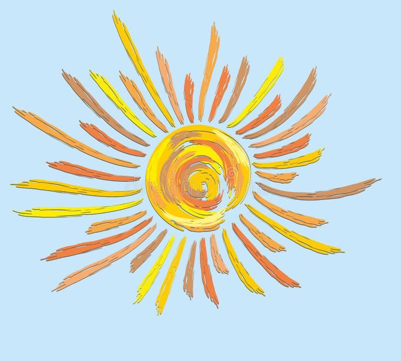 Sun. vector illustration