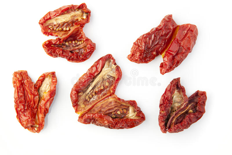 Sun Dried Tomatoes stock photography