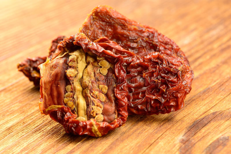 Download Sun dried tomatoes stock photo. Image of gourmet, board - 28646152
