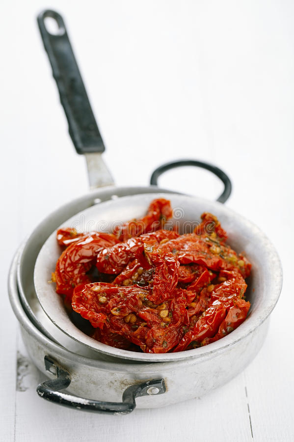 Download Sun-dried Tomatoes With Olive Oil Stock Photo - Image: 21190996