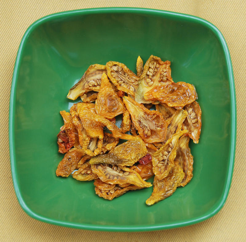Download Sun Dried Yellow Tomatoes stock image. Image of food - 10918383