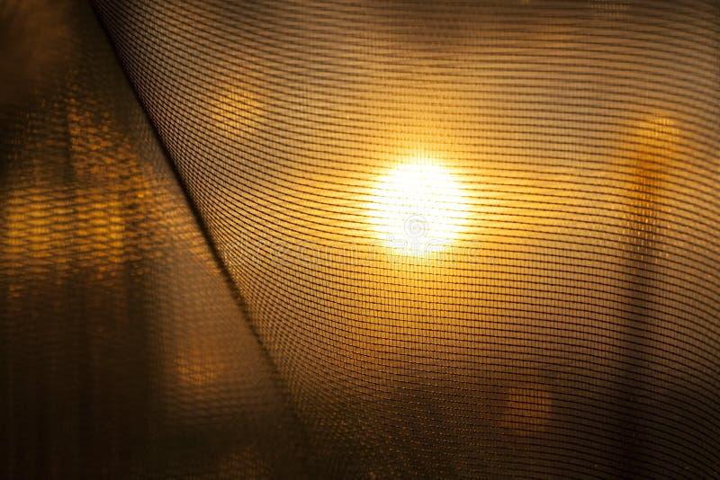 Sun durante puesta del sol fotos de archivo libres de regalías