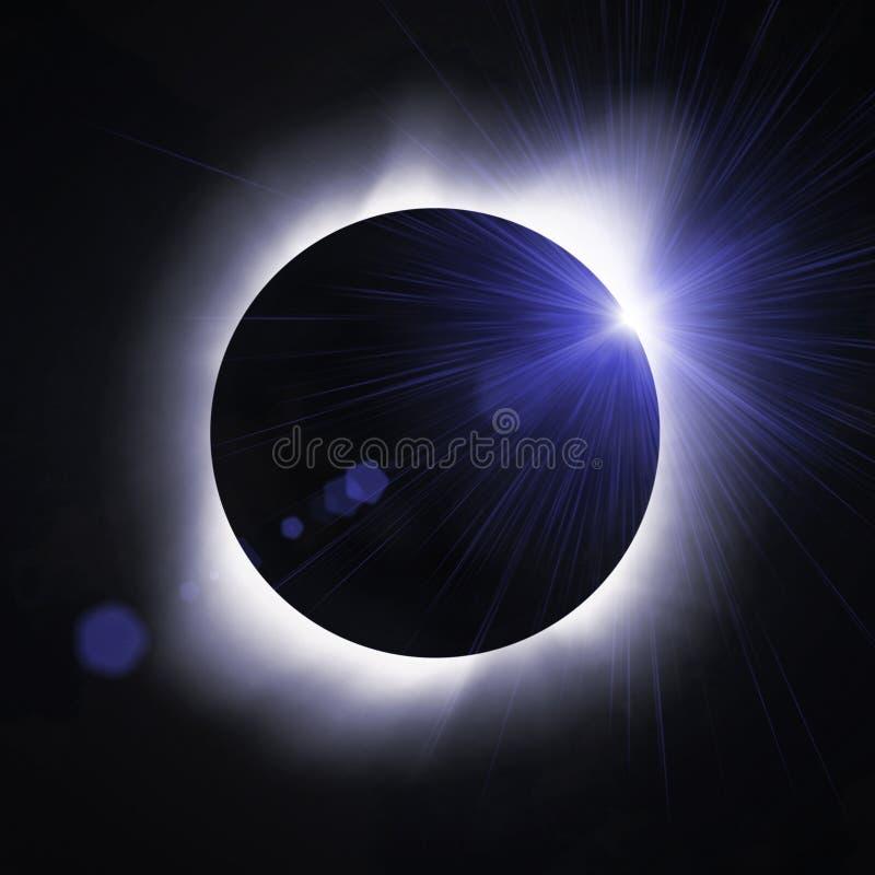 Sun eclipse royalty free stock photos
