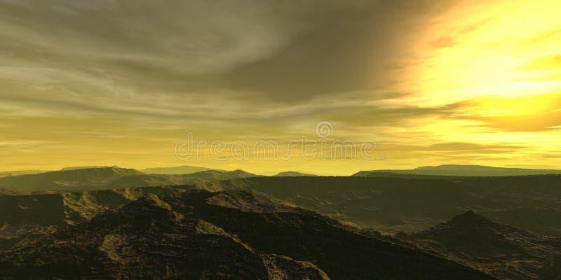Sun en el cielo imagen de archivo libre de regalías