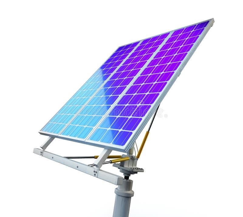Sun-Energie in der Hand lizenzfreie abbildung