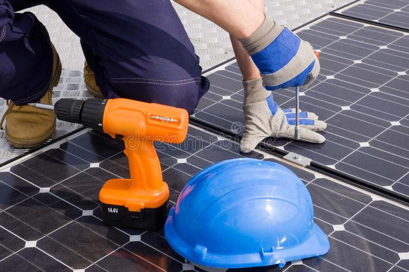 Download Sun energy stock image. Image of home, house, carpenter - 20811115