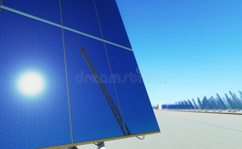 Download Sun energy #3 stock illustration. Image of blue, cloud - 11708381