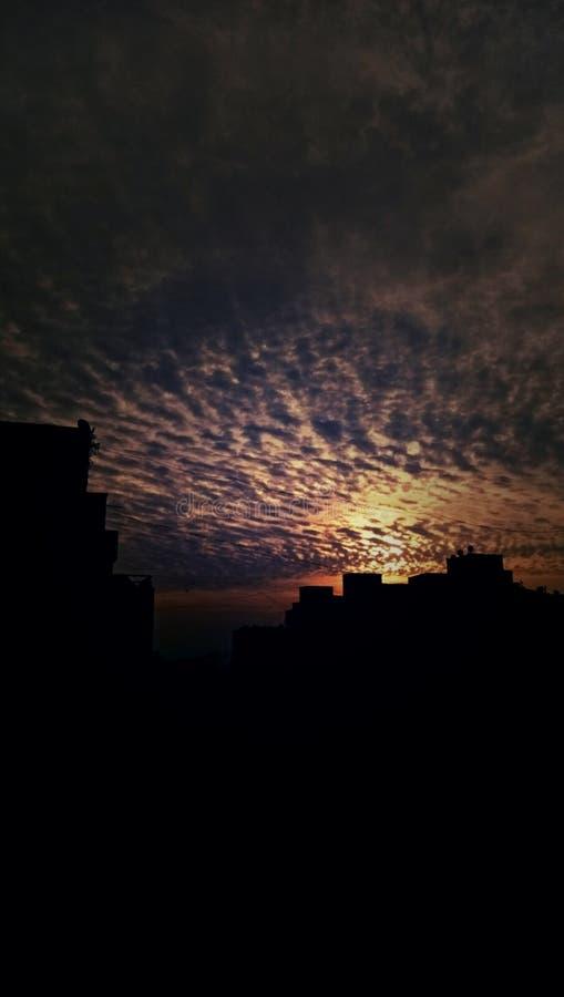 Sun est seul trop mais il brille toujours images libres de droits