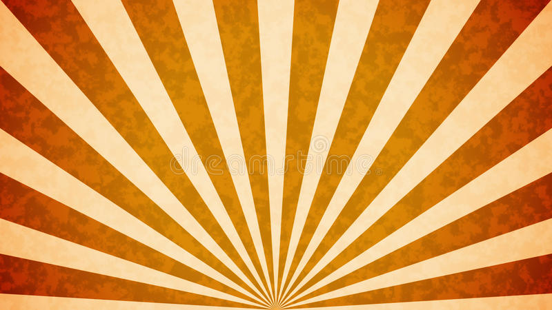Sun estalló el fondo retro libre illustration