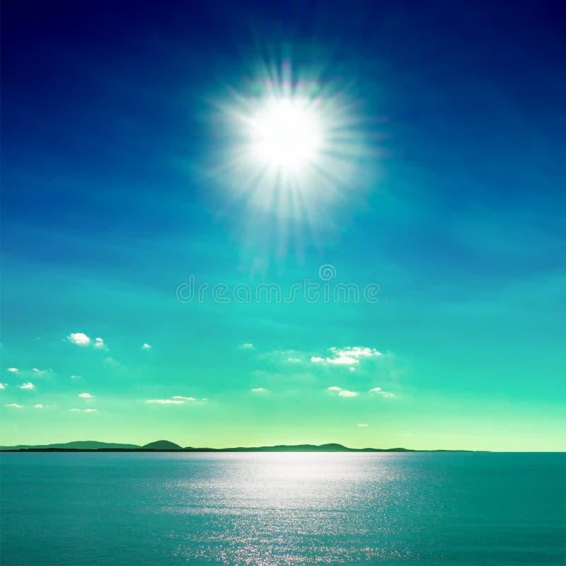 Sun et mer photos libres de droits