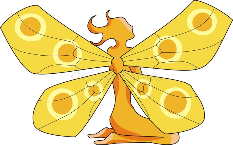 Sun Fairy 2 Royalty Free Stock Images