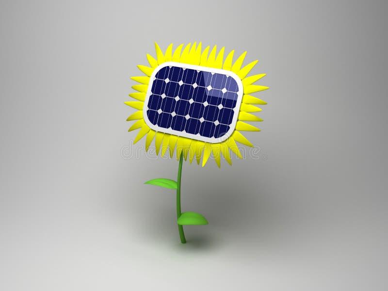 Sun flower stock illustration