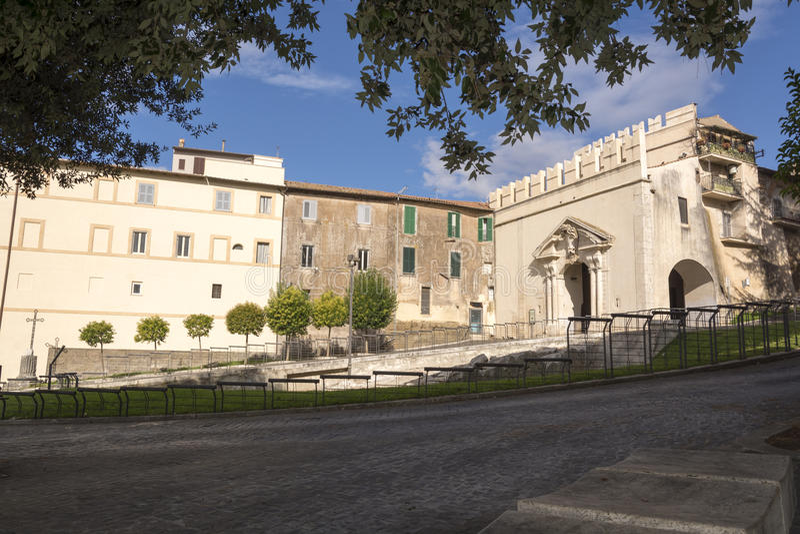 Sun Gate, Palestrina royalty free stock images