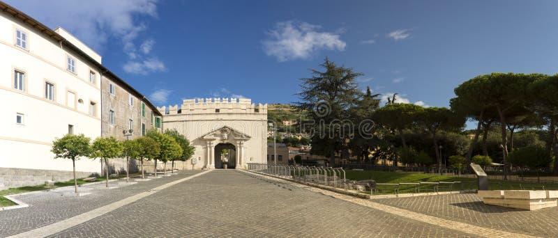 Sun Gate, Palestrina royalty free stock photos