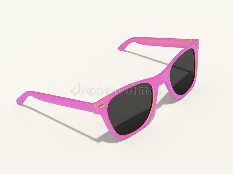 Sun glasses stock illustration