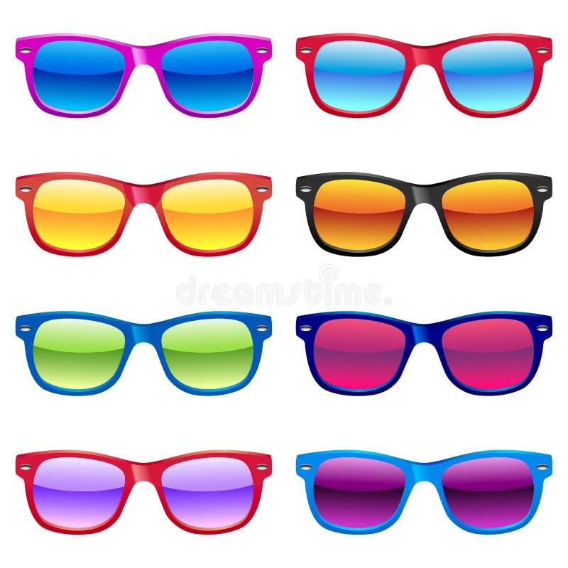 Free Sun Glasses Set Royalty Free Stock Photo - 39292975