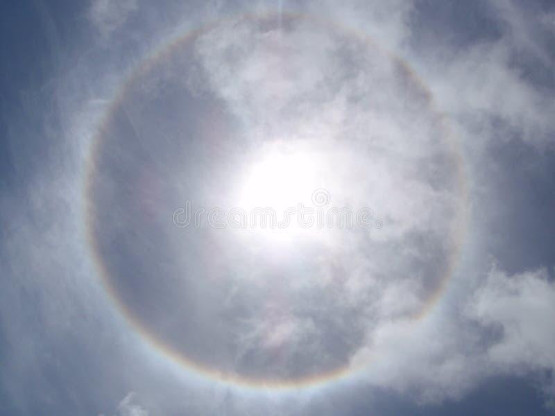 Sun-Halo lizenzfreie stockbilder