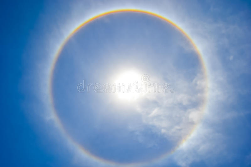 Download Sun Halo In The Sky Royalty Free Stock Photography - Image: 22317877